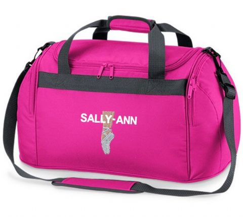 Personalised BALLET SHOES Bag Mini Holdall